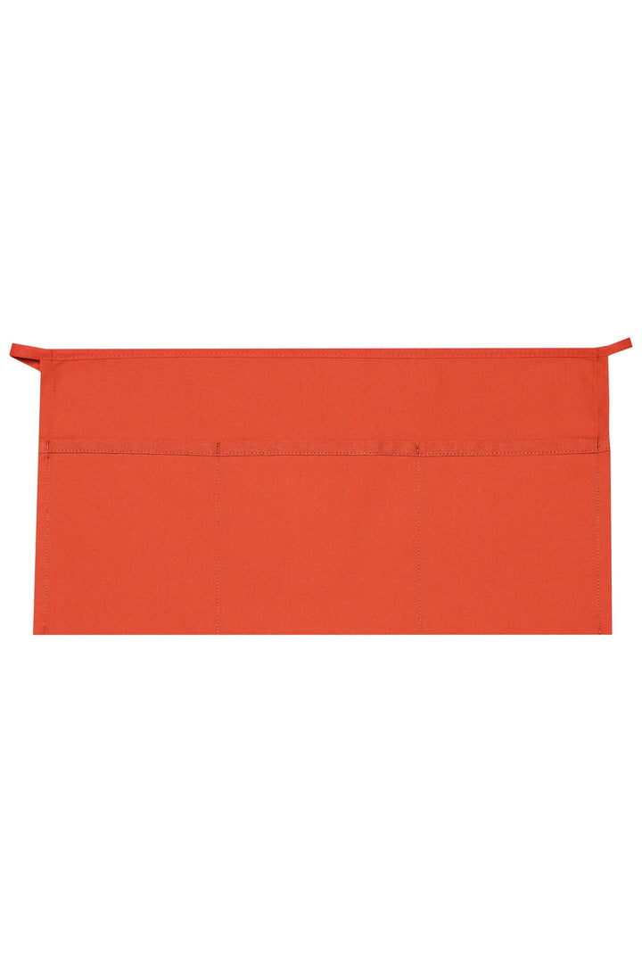 Orange XL Waist Apron (3 Pockets)