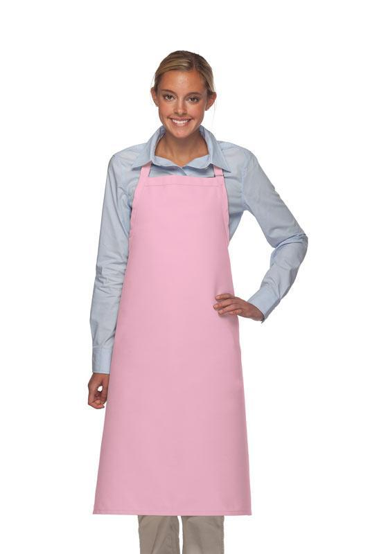Pink No Pocket Adjustable XL Butcher Apron