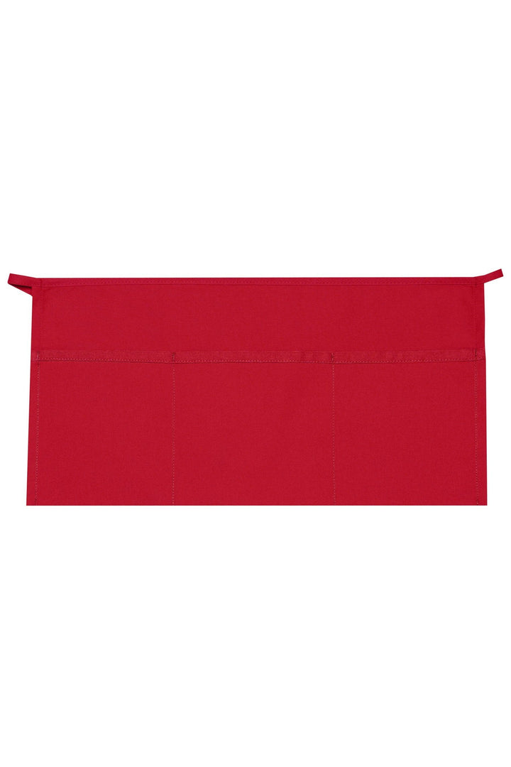 Red XL Waist Apron (3 Pockets)