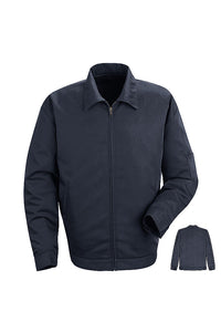 Navy Slash Pocket Jacket