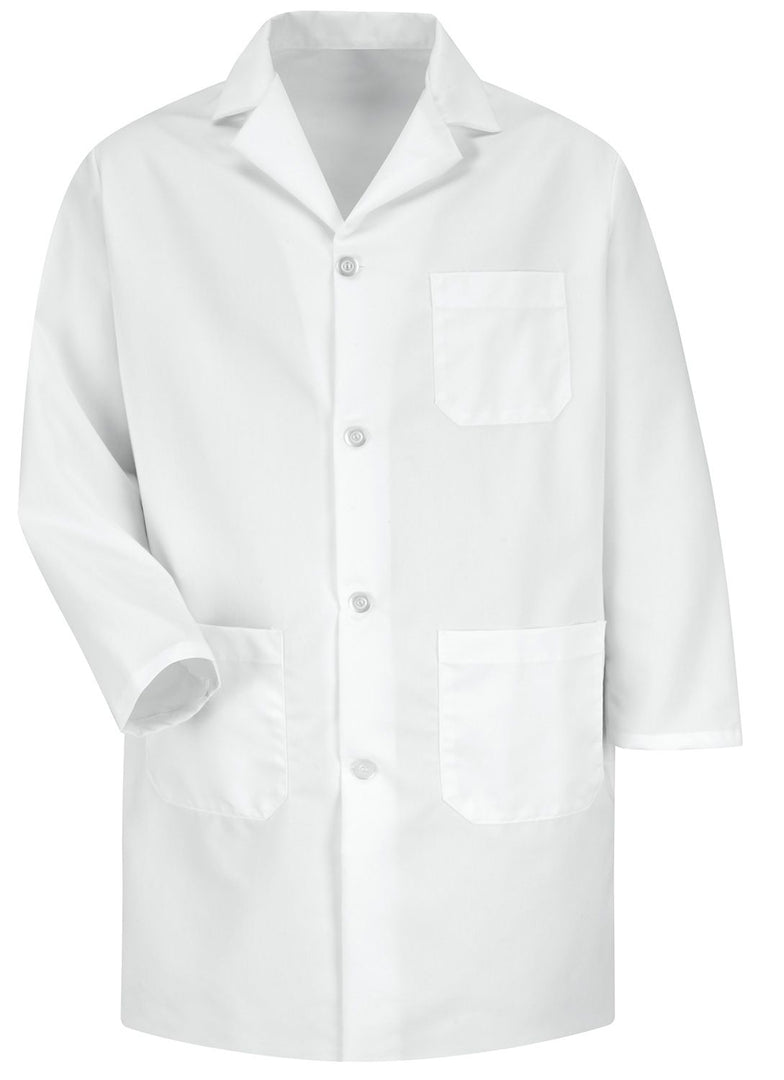 Men's White Staff Coat