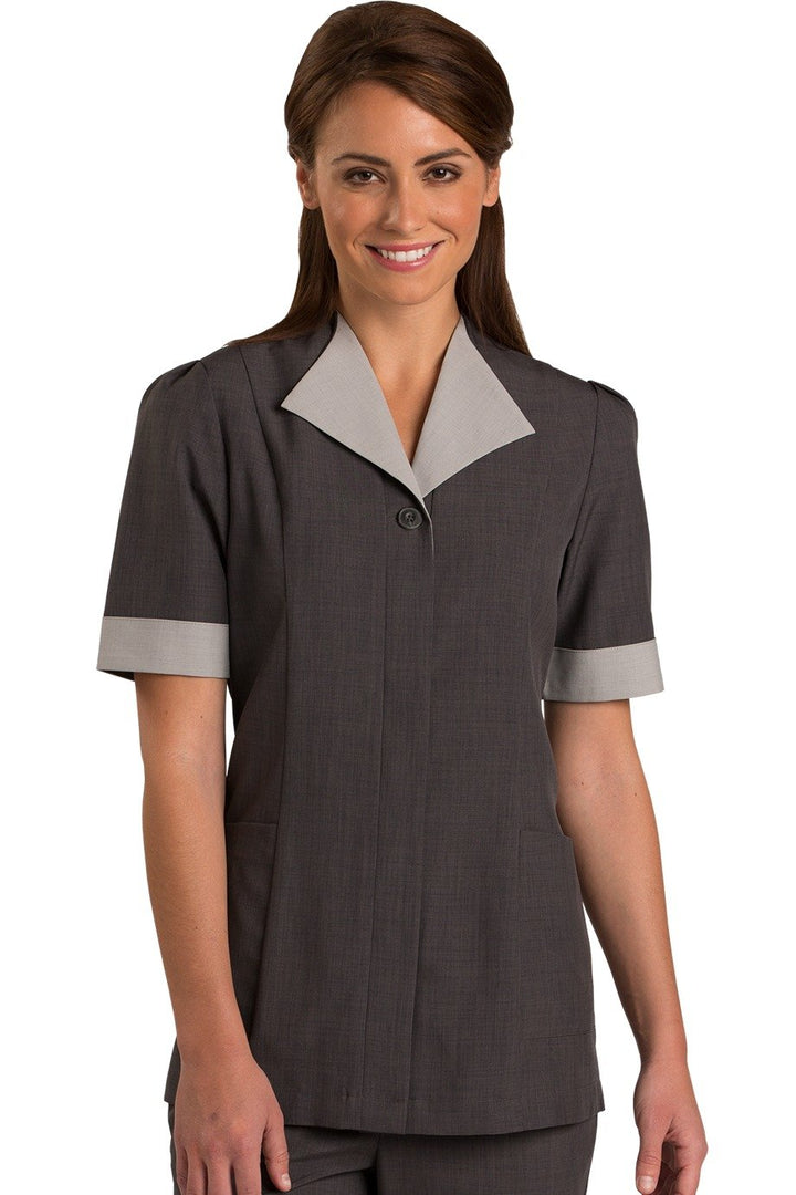 Steel Grey Pinnacle Housekeeping Tunic