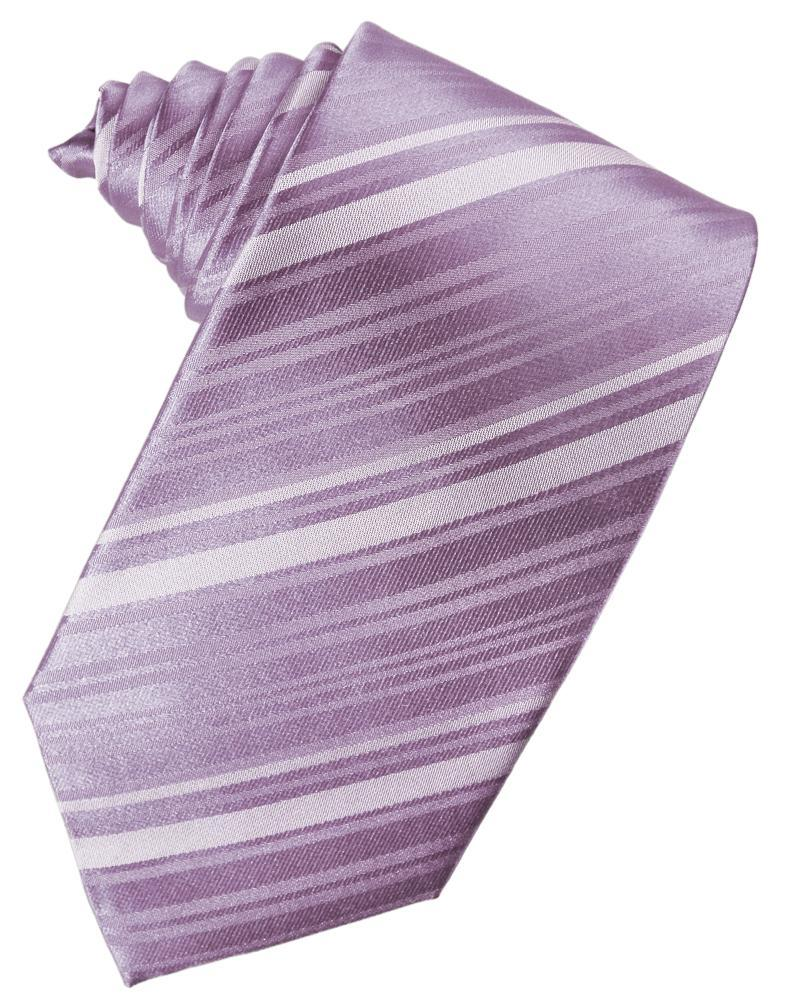 Heather Striped Silk Necktie