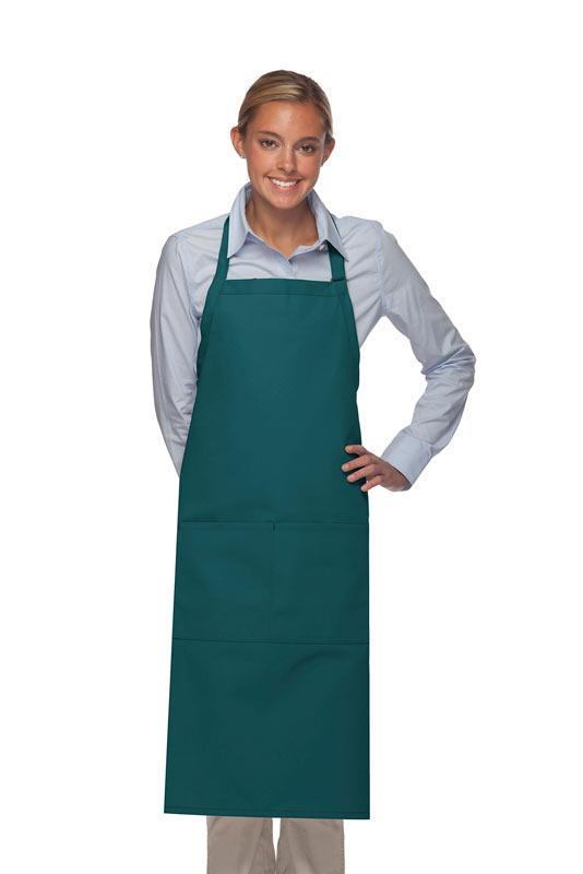 Teal Deluxe XL Butcher Adjustable Apron (2 Pockets)