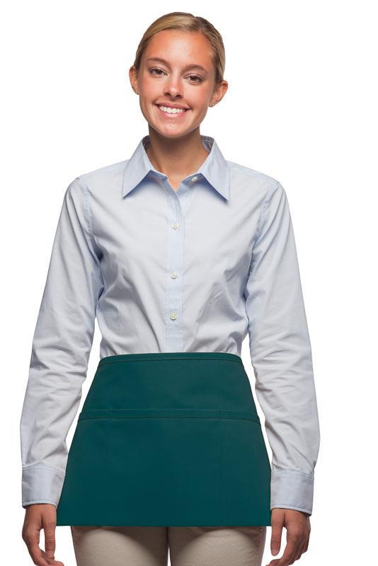 Teal 3-Pocket Waist Apron
