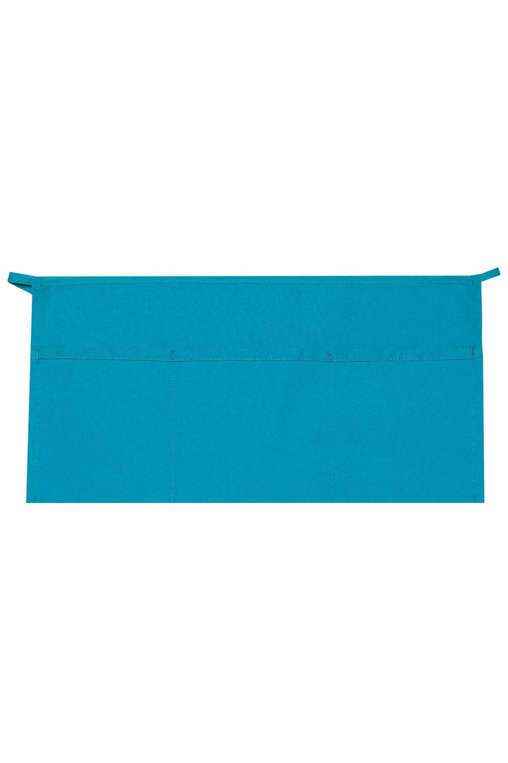 Turquoise XL Waist Apron (3 Pockets)