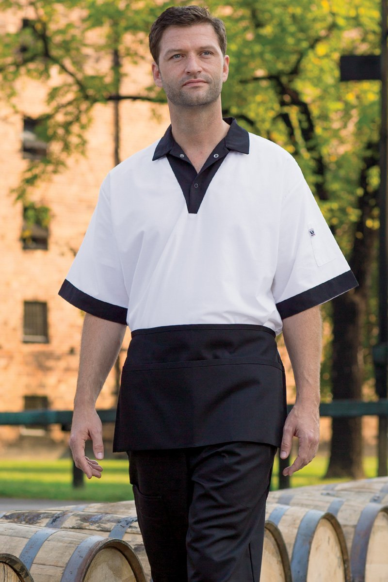 Black Waist Apron (3 Pockets)