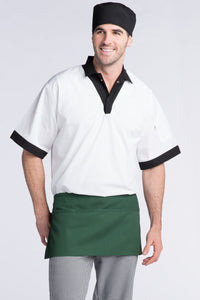 Hunter Green Waist Apron (3 Pockets)
