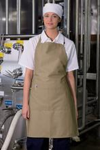 Khaki Butcher Adjustable Apron (2 Pockets)