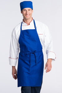 Royal Blue Butcher Adjustable Apron (2 Pockets)