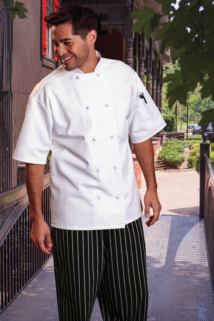 White Monterey Chef Coat