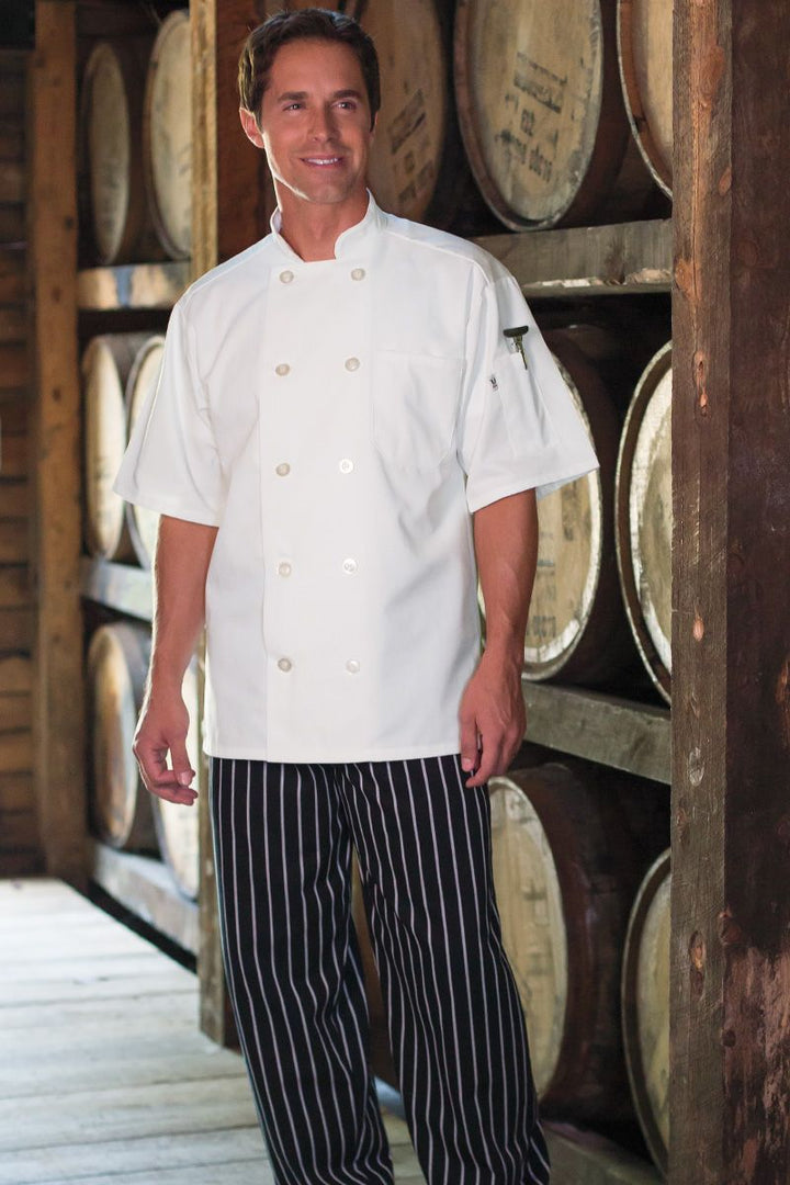 White South Beach Chef Coat