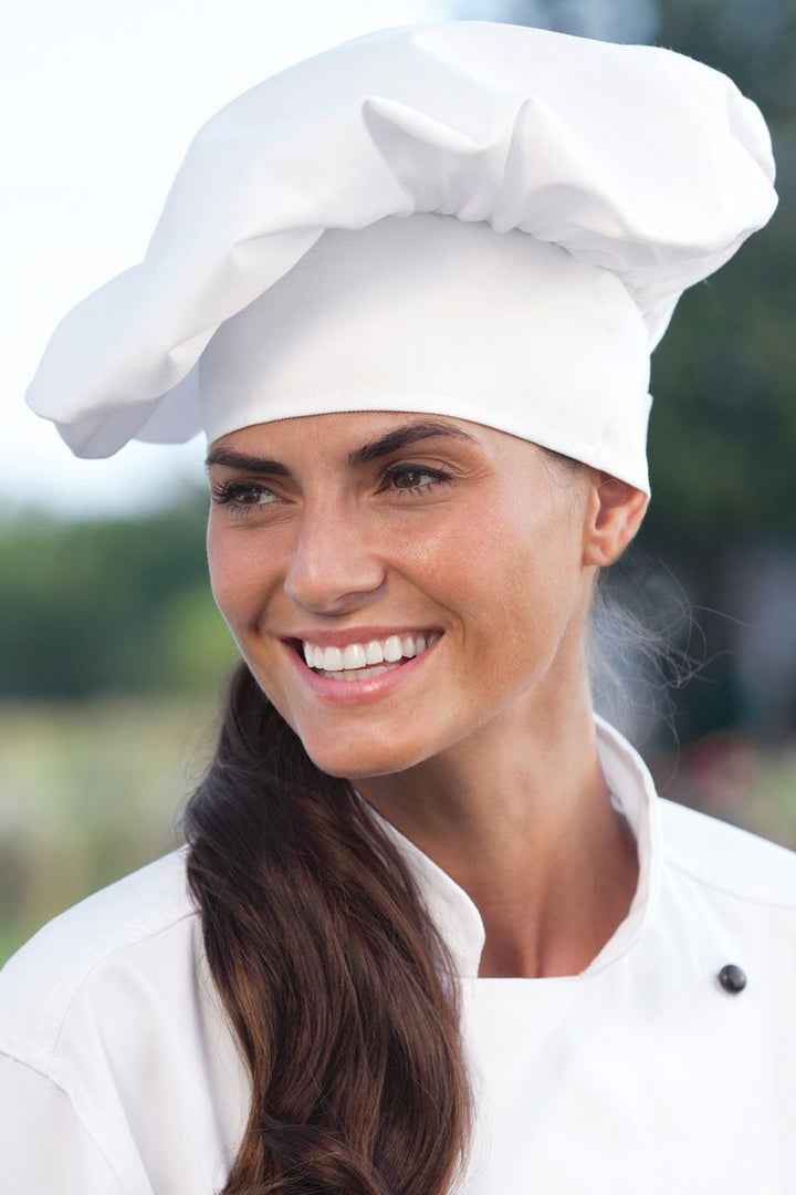 White Twill Chef Hat