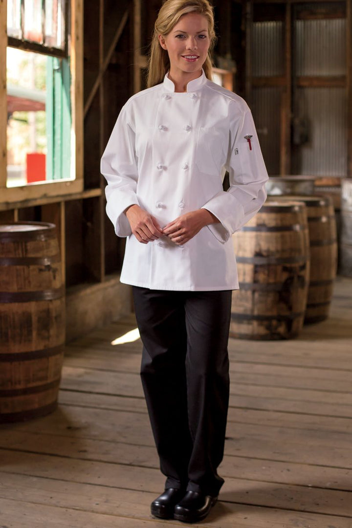 Black Traditional Chef Pant (2