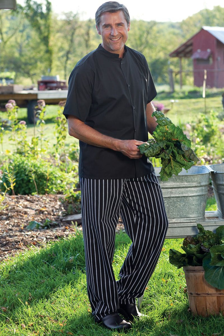 Chalkstripe Traditional Chef Pant (2