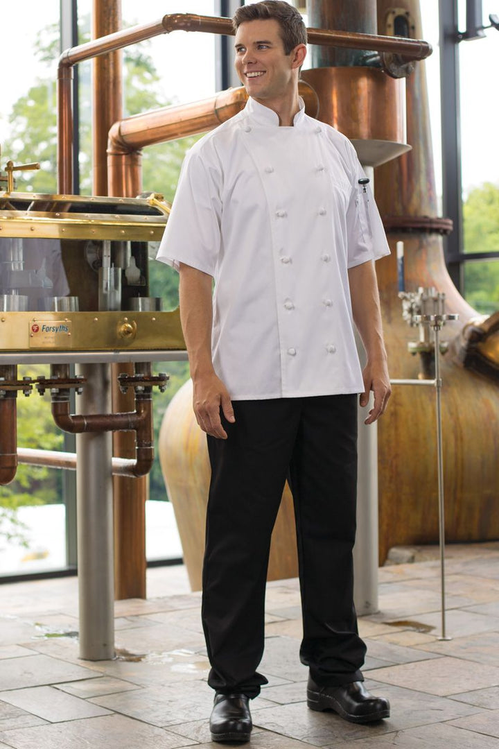 Black Executive Chef Pant