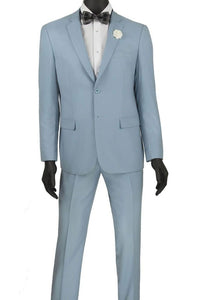 """Lorenzo"" Pale Blue Suit"