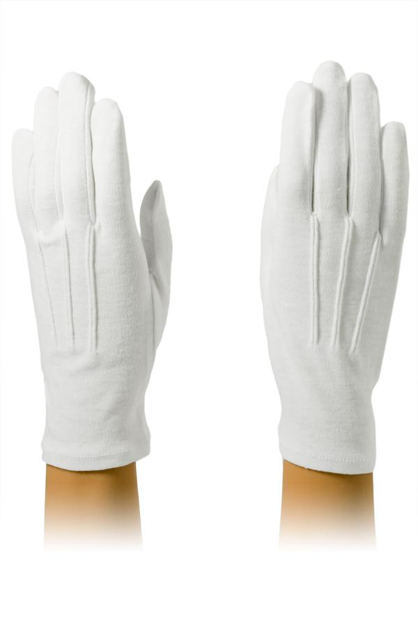 White Cotton Housekeeping Gloves