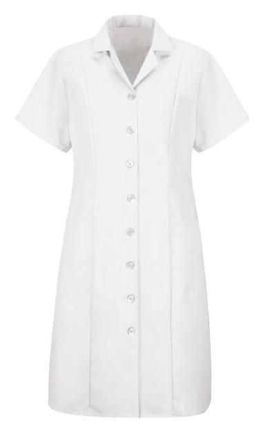 White Women's Housekeeping Princess Dress