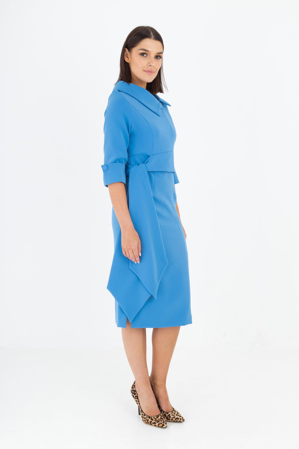 Rena Dress in Blue S9-02