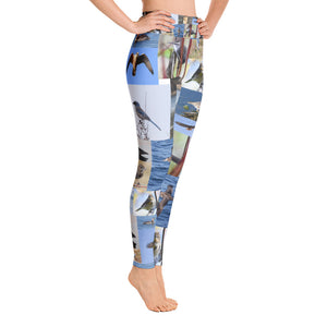 Bird Print Women Yoga Leggings