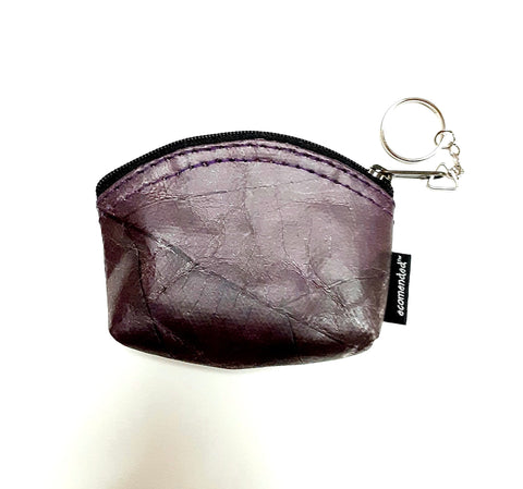 Image of Teak Leaf Leather coin purse XS - Ecomended
