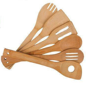 Bamboo Kitchen Utensils - ecomended - 1