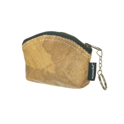 Leaf Leather keyring pouch - Ecomended