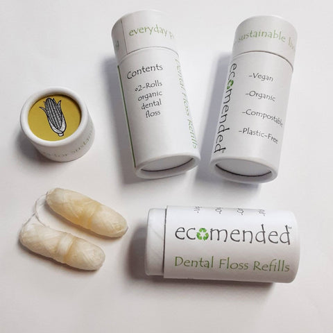 Vegan Corn Fiber Dental Floss - Ecomended