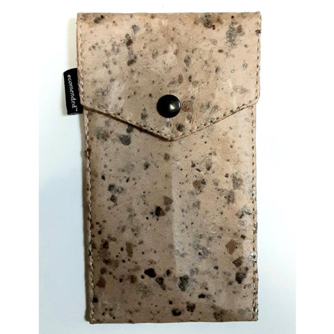 Image of Vegan Tamarind Cork Phone Pouch (Large) - Ecomended