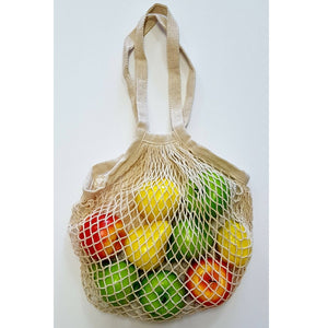 Cotton Mesh Shopping Tote - Ecomended