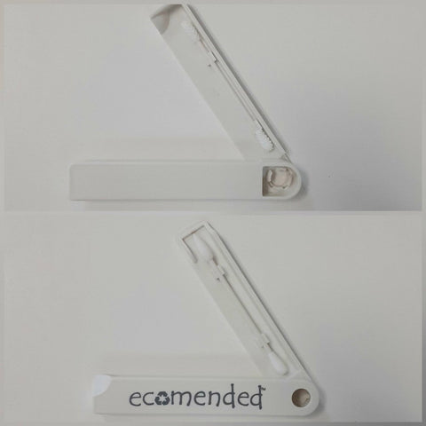 Reusable silicone ear buds / makeup swabs - Ecomended