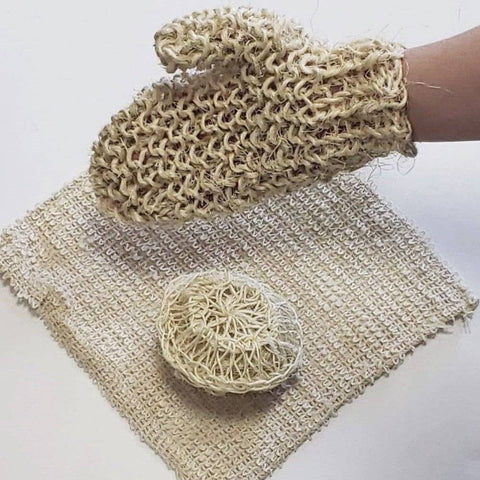 Image of Sisal bath glove - Ecomended
