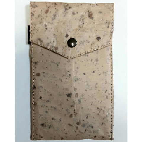 Image of Small Phone Pouch-Tamarind Cork - Ecomended