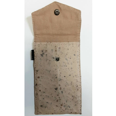 Small Phone Pouch-Tamarind Cork - Ecomended