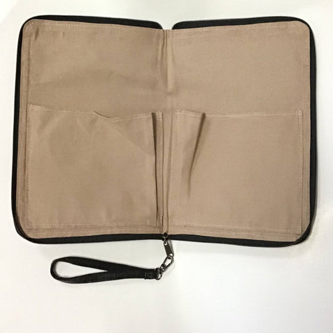 Tamarind 3-side zip Notebook/Laptop Case - Ecomended