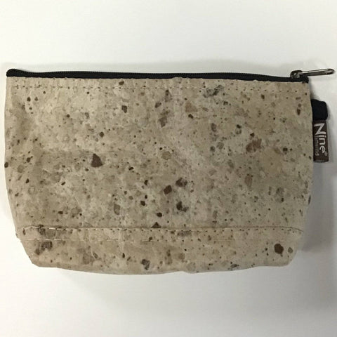 Tamarind Cork Medium Accessory Bag - Ecomended