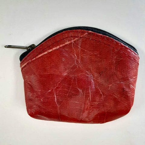 Teak Leaf Leather coin purse XS - ecomended - 3
