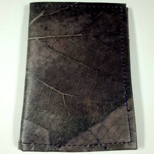 Teak Leaf Leather notebook small - ecomended - 6