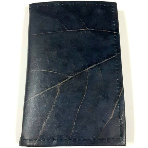 Image of Teak Leaf Leather notebook small - Ecomended