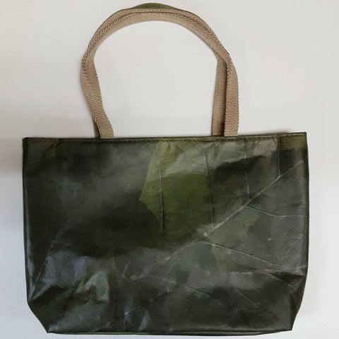 Image of Tote small - Leaf Leather - ecomended - 1