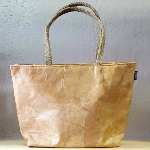 Image of Tote small - Leaf Leather - ecomended - 2