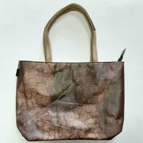 Image of Tote small - Leaf Leather - ecomended - 3