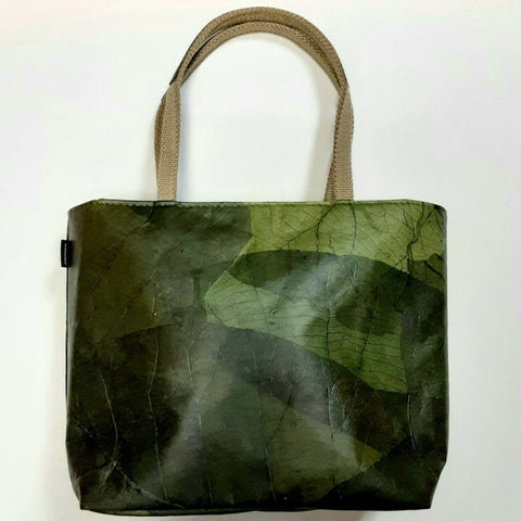Image of Tote small - Leaf Leather - ecomended - 4