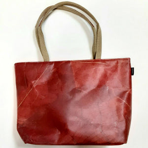 Vegan Leaf Leather Tote(Small) - Ecomended