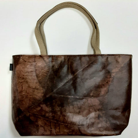 Image of Tote small - Leaf Leather - ecomended - 6
