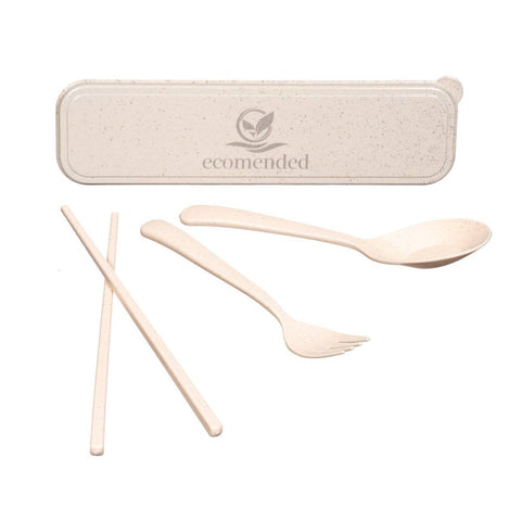 Image of Travel Cutlery set - ecomended - 4