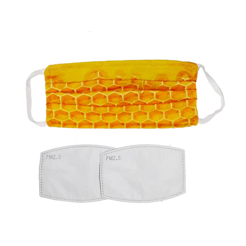 Reusable Face Mask With Replaceable Filters - Ecomended