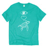 Eye Heart Sea Turtle fair trade tee