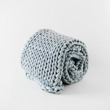 Load image into Gallery viewer, Knit Weighted Blanket